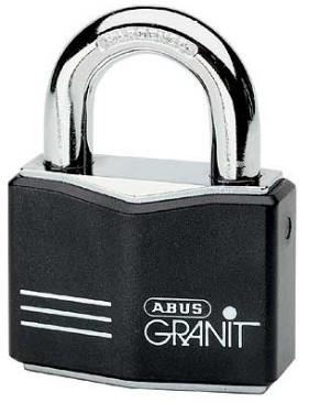 abus granit 55 37 padlock abus granit padlock 55 37 abus. Black Bedroom Furniture Sets. Home Design Ideas