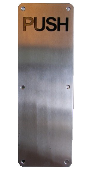 Handle push plate antara harware home center sdn bhd for Door push plates
