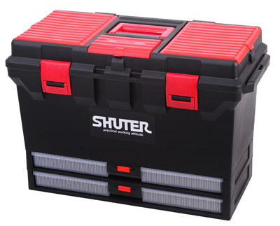 Shuter ABS Tool Boxes TB 802 Multi compartment and sliding tray  sc 1 st  Antara Hardware Home Centre Sdn Bhd & Tools Storage