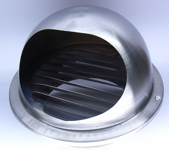 Exhaust Air Cap Stainless Steel 6 Vent Cap Exhaust Air